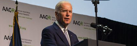 Joe Biden at the 2016 AACR Conference