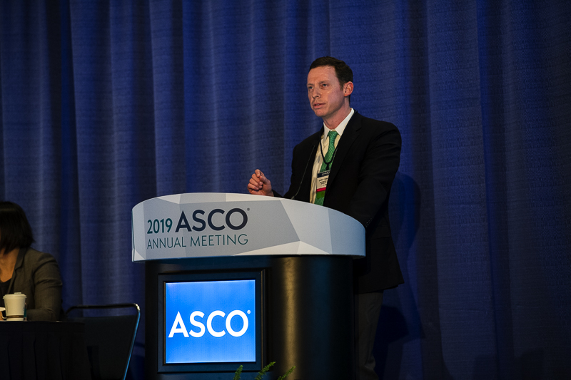 Gavin P. Dunn, M.D., Ph.D., of the Siteman Cancer Center at the Washington University School of Medicine in St. Louis, discusses immunotherapy to help patients with glioblastoma at ASCO19.