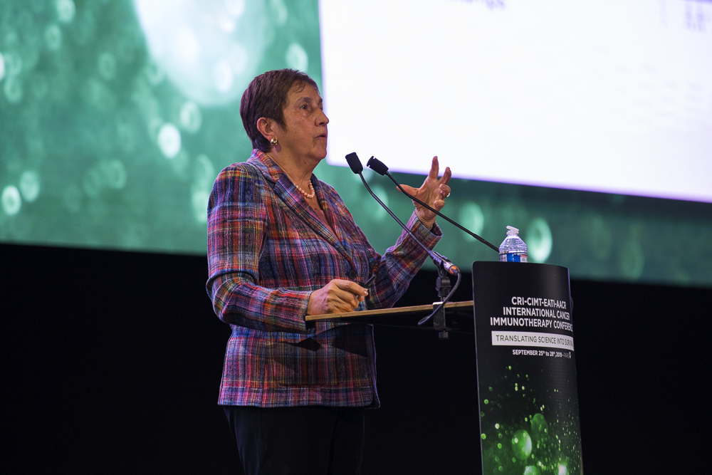 Olivera J. Finn, Ph.D., discusses epithelial cells and developing a MUC1-targeting vaccine at CICON19
