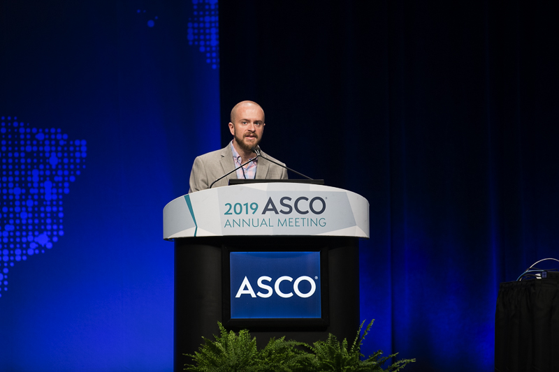 David B. Page, M.D., of the Earle A. Chiles Research Institute, discusses two studies at ASCO19.