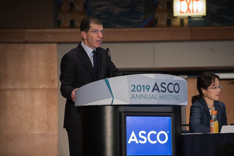 Danny Rischin, M.D., of the Peter MacCallum Cancer Centre, discussed combination therapy at ASCO19.