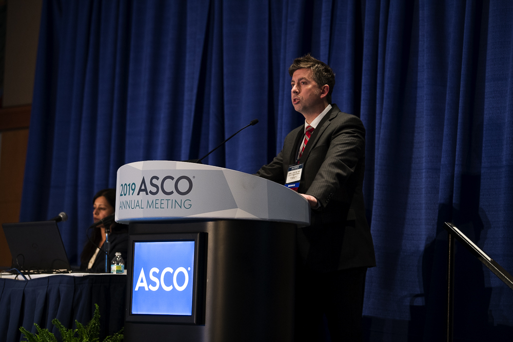 Jason J. Luke, M.D., of the University of Pittsburgh Medical Center, highlighted a Phase 3 trial for melanoma at ASCO19.