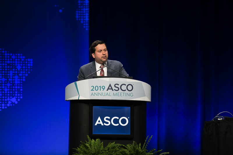 Kurt A. Schalper, M.D., Ph.D., of the Yale School of Medicine, discusses checkpoint immunotherapy post-surgery at ASCO19.