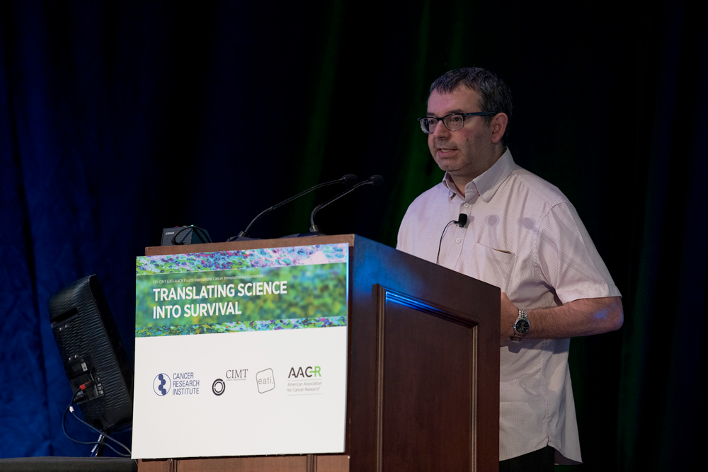 Alan Melcher, Ph.D., of the Institute of Cancer Research in London
