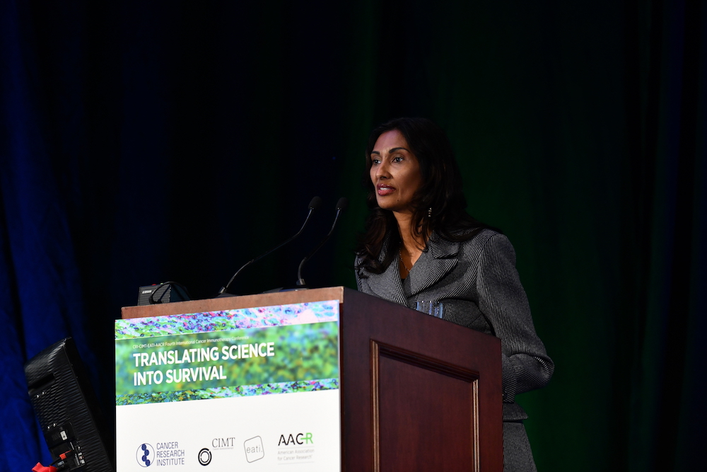 Padmanee Sharma, M.D., Ph.D., of the University of Texas MD Anderson Cancer Center