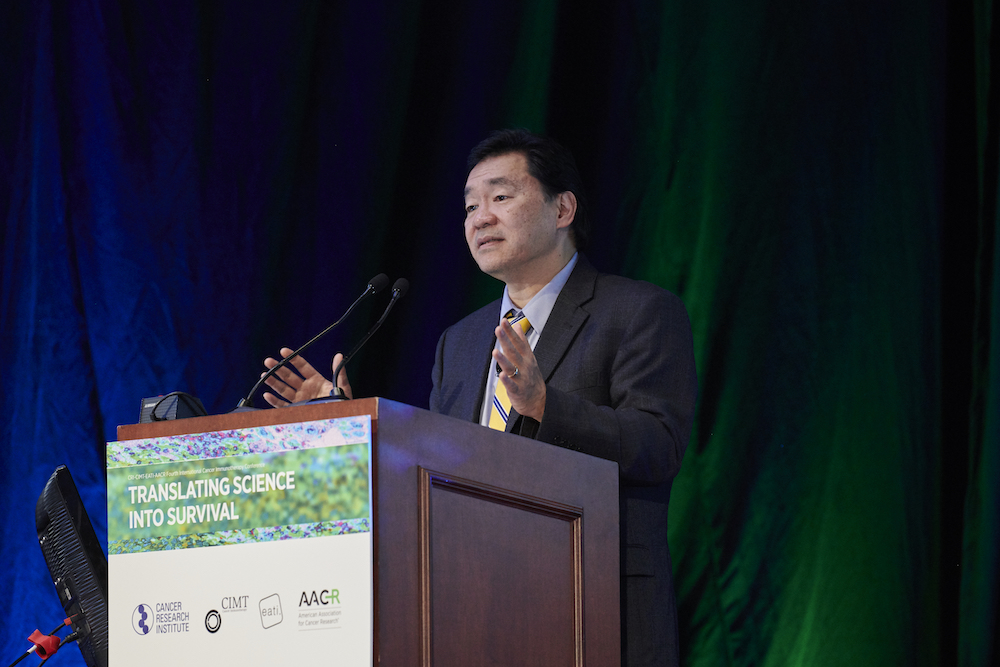 Patrick Hwu, M.D., of the University of Texas MD Anderson Cancer Center