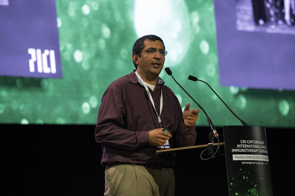 Nikesh Kotecha, Ph.D., outlines PICI's immune profiling and informatics-driven analysis projects at CICON19