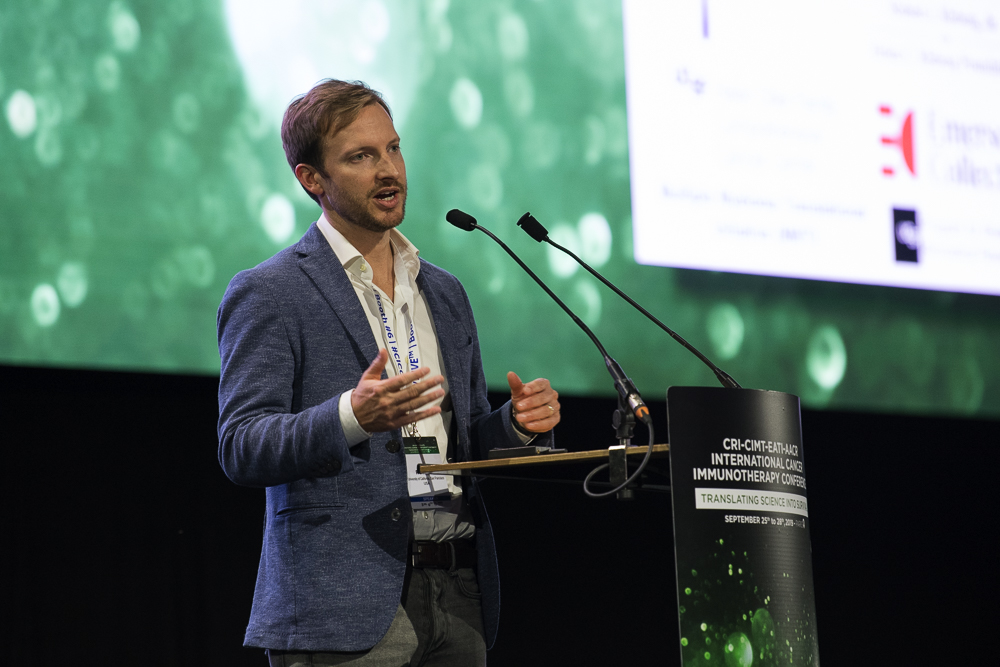 Kole Roybal, Ph.D., discusses engineering next-generation T cell therapies at CICON19