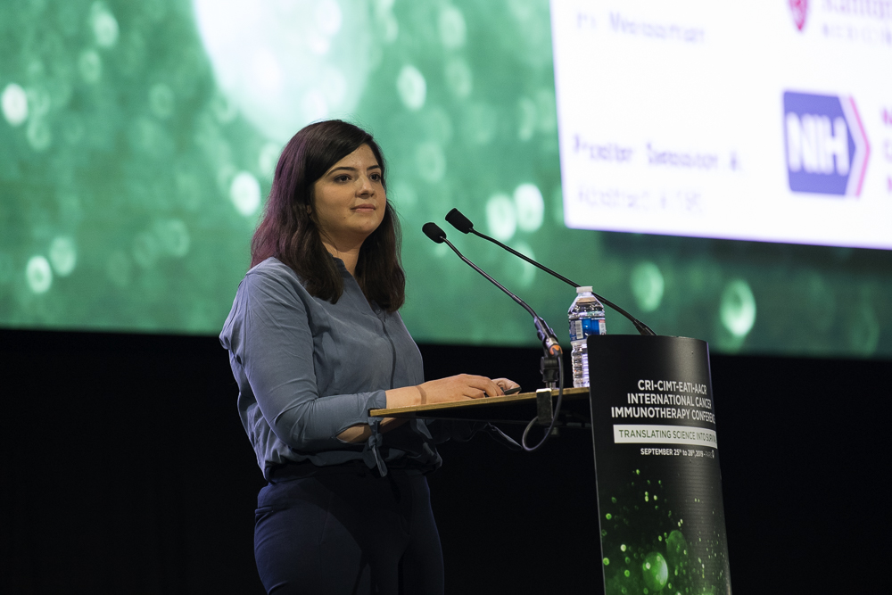 Amira Barkal reveals the role of the CD24 pathway at CICON19