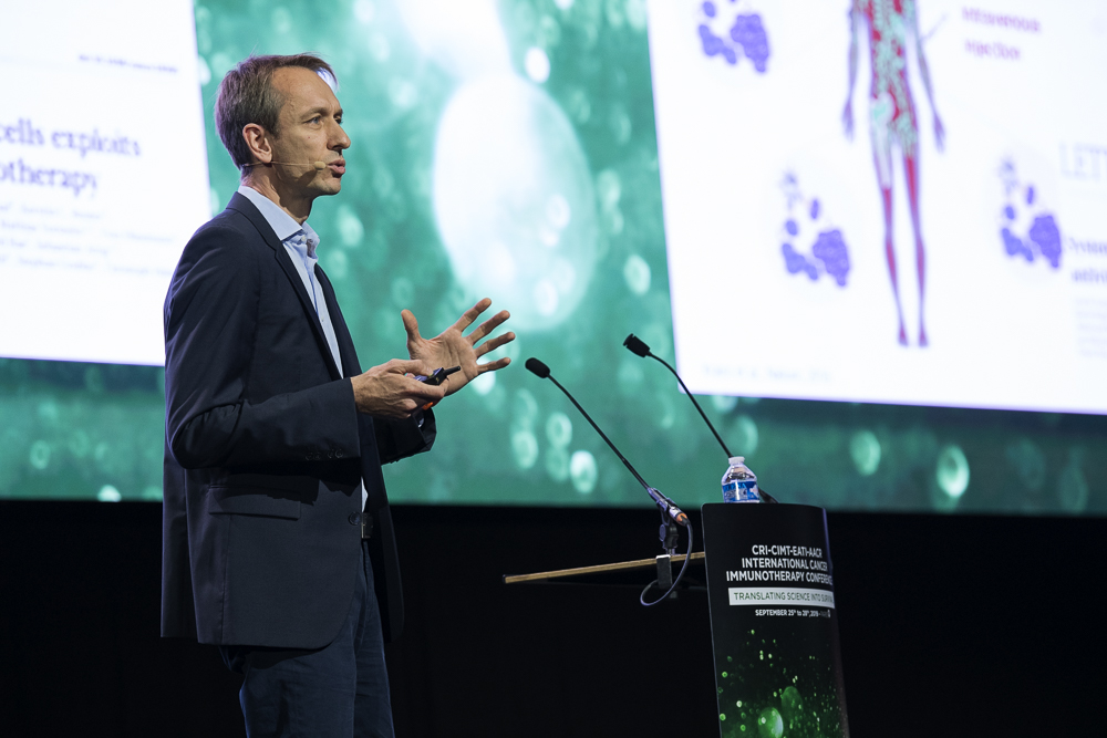 Sebastian Kreiter, M.D., discusses RNA-based cancer vaccines at CICON19