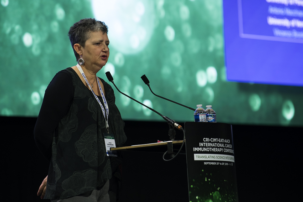 Ursula Grohmann, Ph.D., discusses the IDO1 protein at CICON19