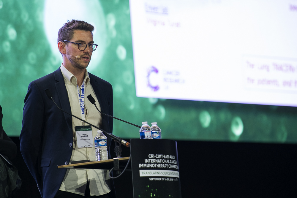 James L. Reading, Ph.D., discusses how mutated tumor neoantigens drive the activation and differentiation of T cells at CICON19