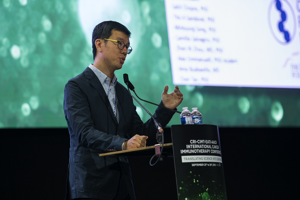 Chang-Suk Chae, Ph.D., discusses endoplasmic reticulum stress at CICON19