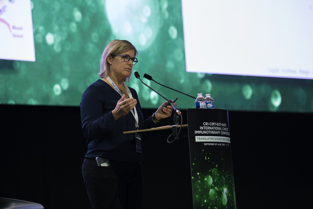 Jennifer A. Wargo, M.D., discusses the importance of identifying an optimal consortia of bacteria at CICON19