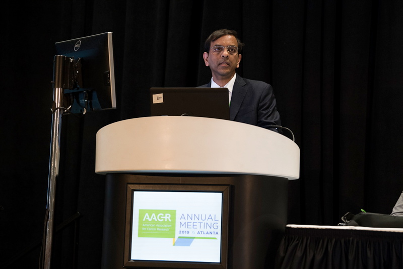 Prasad Adusumilli, M.D., discusses a SU2C-CRI Immunology Dream Team project using regional delivery of mesothelin-targeting CAR T cells at AACR19