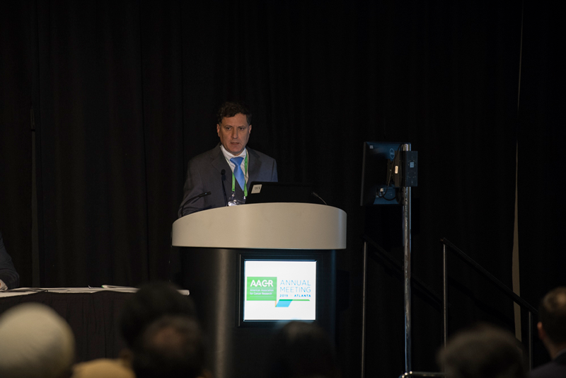 Ignacio Melero, M.D., Ph.D., presents results from a phase I/II trial of PD-1 checkpoint immunotherapy in hepatocellular carcinoma at AACR19.