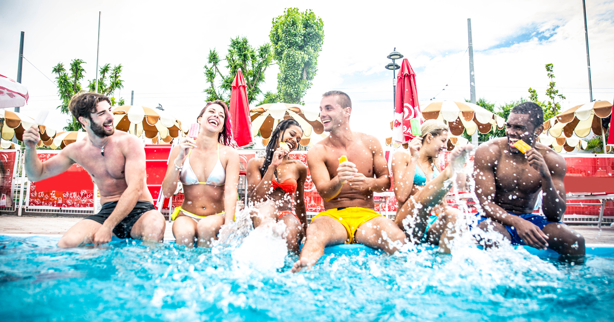 Pool Party (Shutterstock)