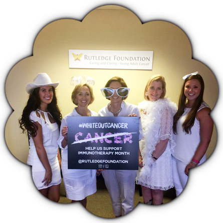 Rutledge Foundation wears white for White Out Cancer Day 2015