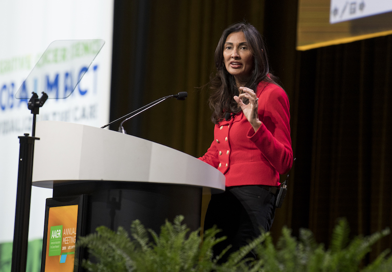 Padmanee Sharma, M.D., Ph.D., of the University of Texas MD Anderson Cancer Center. Photo by Arthur N. Brodsky, Ph.D.