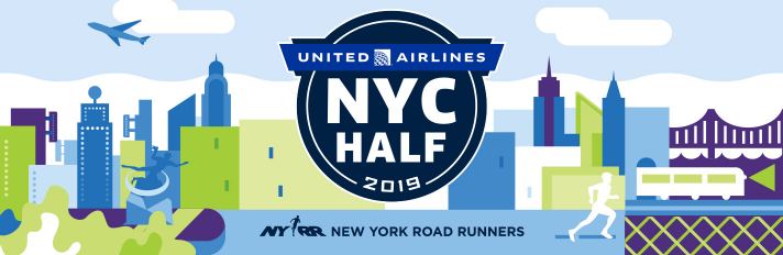 United Airlines NYC Half Marathon 2019 Banner