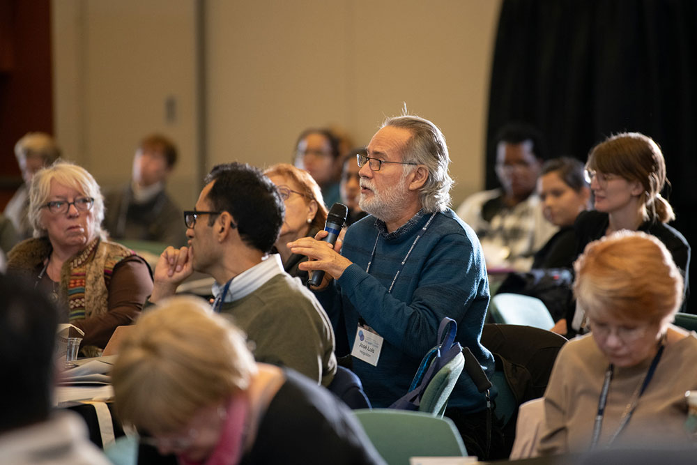 Attendees at the Cancer Research Institute Immunotherapy Patient Summit in Houston. Photo by Ranjani Groth