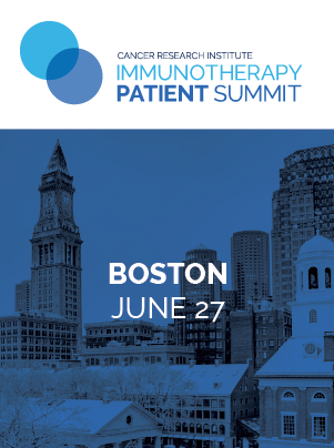 CRI Immunotherapy Patient Summit in Boston on July 27, 2019