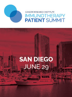CRI Immunotherapy Patient Summit in San Diego on June 29, 2019