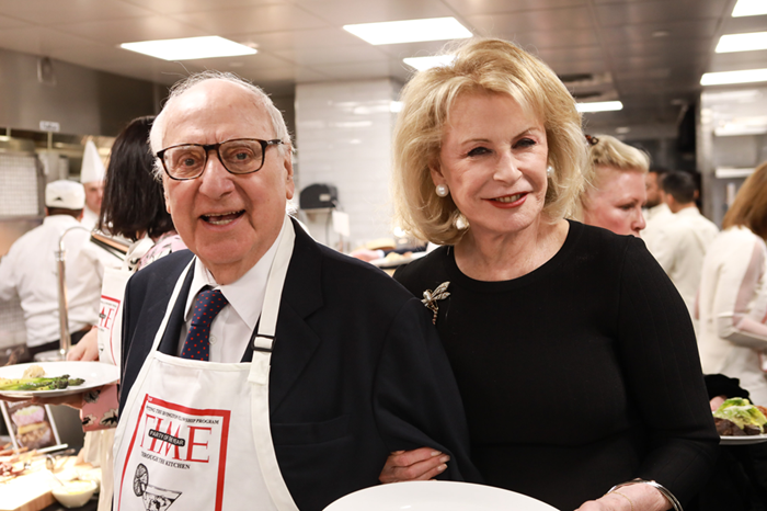 John Veronis and Lauren Veronis during the Through The Kitchen Benefit For Cancer Research Institute on May 6, 2018 in New York City.